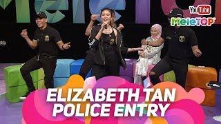 Police Entry oleh Elizabeth Tan   Persembahan Live MeleTOP   Nabil & Neelofa