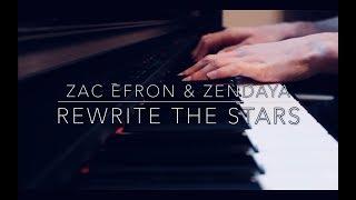 Video Rewrite The Stars - The Greatest Showman - Zac Efron & Zendaya (Piano) MP3, 3GP, MP4, WEBM, AVI, FLV Januari 2018
