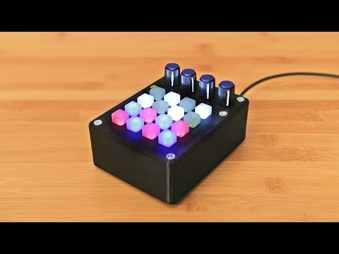 build your own 16 button midi controller with an arduino