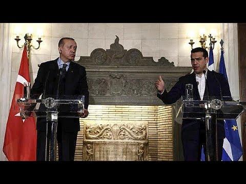 Ιστορική επίσκεψη Ερντογάν με ανοιχτές διαφωνίες