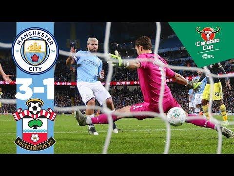 Man City 3-1 Southampton I Highlights I Carabao Cup