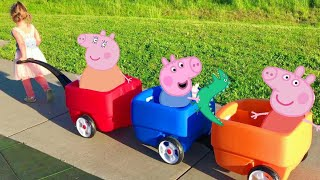 Peppa Pig Three Little Pigs Nursery Rhyme Song / Story  Babies, Toddlers, Children, Kids Video