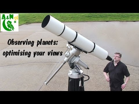 astronomy - Getting consistently good views of planets and other targets in the night sky can seem a bit hit and miss to the new telescope user. In this video we look at...