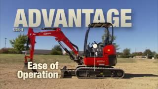 10. Kubota U35 4 Excavator Advantage Video