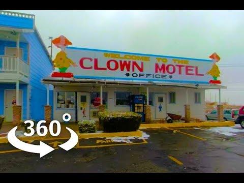 Nevada's Clown Motel in 360