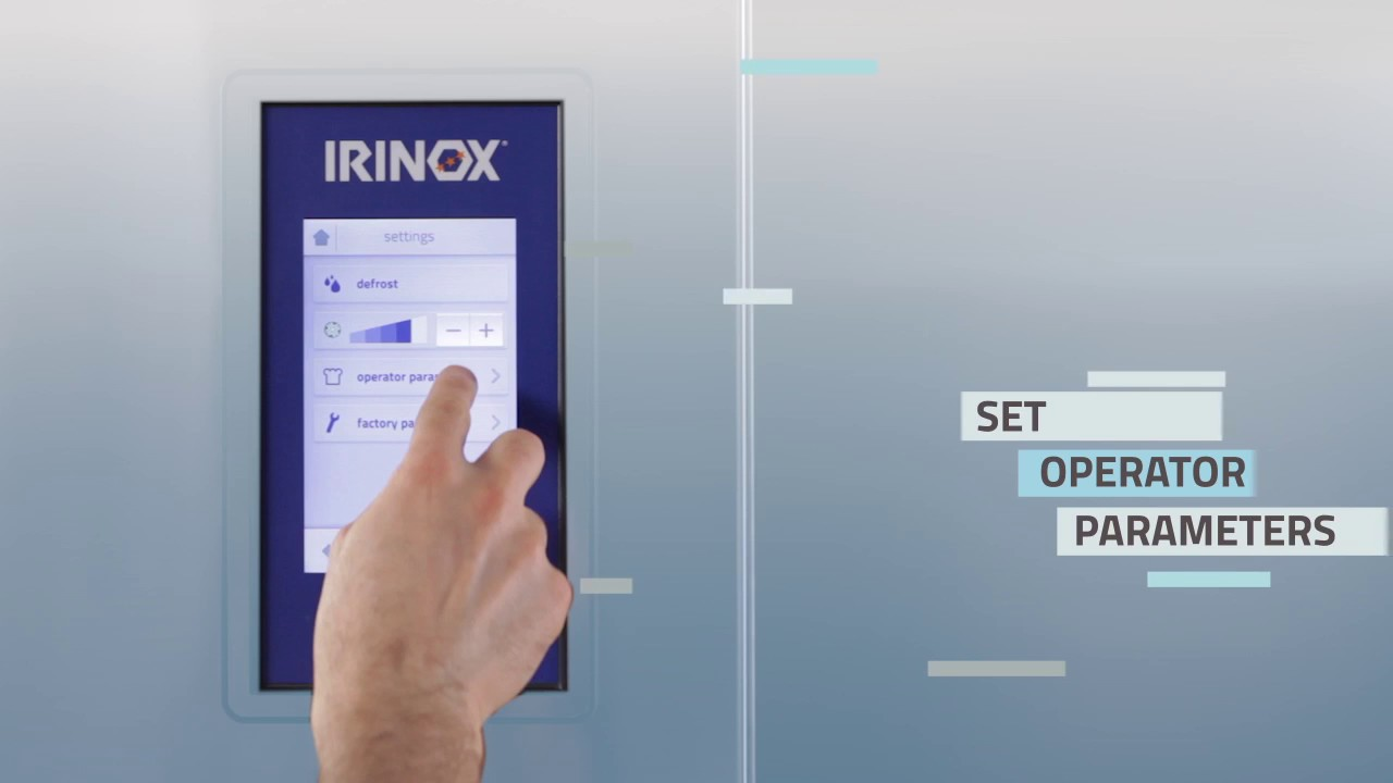 Irinox Multifresh MYA Tutorial - 11 Haccp recording