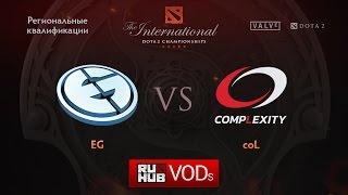 coL vs Evil Geniuses, game 1