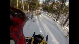2. 2009 Ski-Doo MXZ TNT 500ss - First Ride - GoPro Hero 3