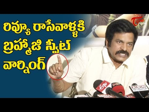 Brahmaji Emotional Speech @ O Pitta Katha Movie Press Meet | TeluguOne Cinema