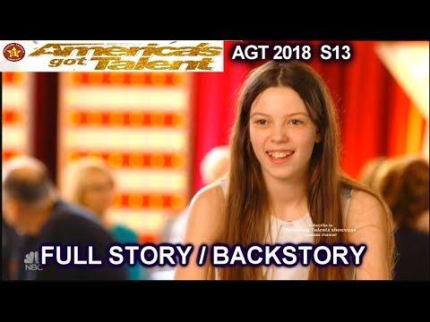 Courtney Hadwin  GOLDEN BUZZER Full STORY / FULL BACKSTORY America's Got Talent 2018 Audition AGT
