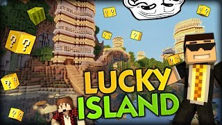 THE LUCKY BLOCK ISLAND AND NOOCH APPLES - Minecraft Mods - Lucky Block Minigame w/ BajanCanadian