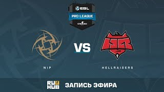 NiP vs HellRaisers - ESL Pro League S6 EU - de_train [ceh9, MintGod]