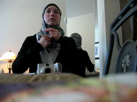 Comment mettre le hijab Turque 2-Petit foulard    How to wear Turkish