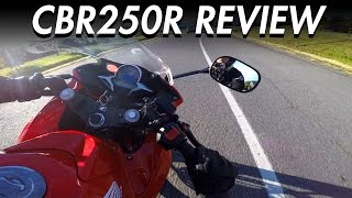 4. Honda CBR250R Review | Best Beginner Motorcycle - LIFE OF BRI