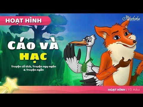 Cáo và hạc câu chuyện cổ tích - Truyện cổ tích việt nam - Hoạt hình cho Trẻ Em - Thời lượng: 6 phút, 57 giây.