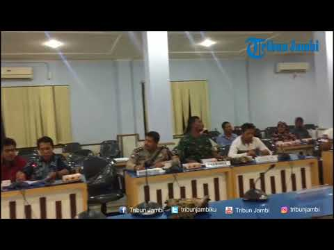 DPRD Kota Jambi Gelar Hearing Bersama Warga Terkait Pembangunan JCC
