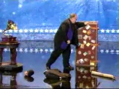 magician - The best magician ever to try out on americas got talent. Fantastic!