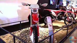 7. 2017 Honda CRF 250 R Enduro Walkaround Review   Engine Specifications Details and Colors