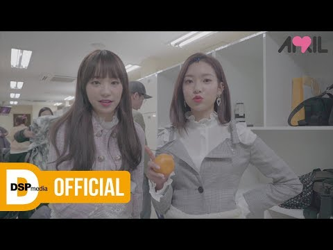 [Making] APRIL(에이프릴) - 파랑새(The Blue Bird) MV Making (видео)