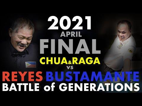 2021   Efren REYES / Francisco BUSTAMANTE vs Johan CHUA / Anton RAGA   9 Ball   FINALS