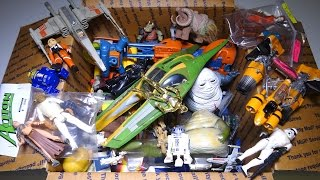 Video What's in the box: Random STAR WARS Toys!  Figures, Vehicles and more MP3, 3GP, MP4, WEBM, AVI, FLV Juli 2018