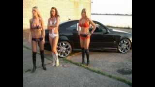 CLK GIRLS Tuning SEXY High Heels Beine Mercedes Pumps Stiefel Felgen Sommer Car