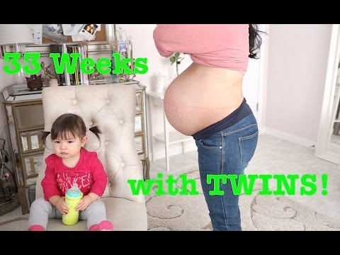 33 Weeks Pregnant with TWINS! – itsMommysLife