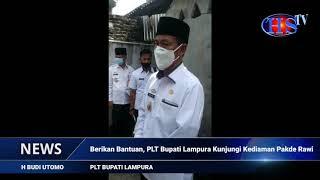 Berikan Bantuan, PLT Bupati Lampura Kunjungi Kediaman Pakde Rawi (HARIANSIBER TV)