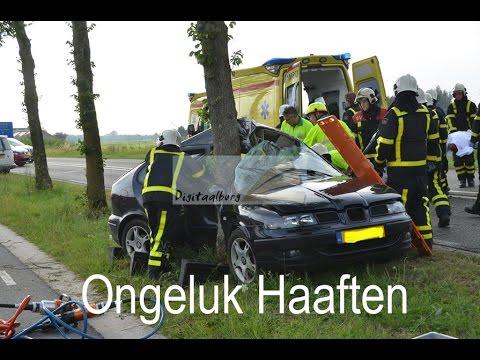 Dode bij ongeval in Haaften