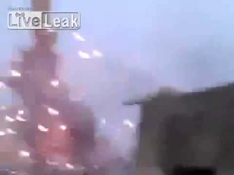 BBC News   French air strike against Mali  Amateur video  2013   YouTube 2