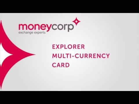 Explorer multi-currency MasterCard