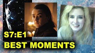 Game of Thrones Season 7 Episode 1 review today! Breakdown of Dragonstone on HBO in 2017! Jon Snow vs Sansa! Arya Stark! http://bit.ly/subscribeBTT Game of T...