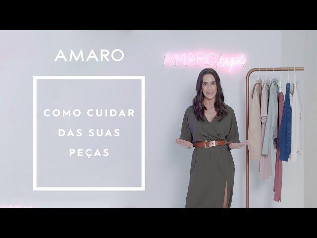 COMO CUIDAR DAS SUAS PEÇAS DE INVERNO | #AMAROtips - Amaro