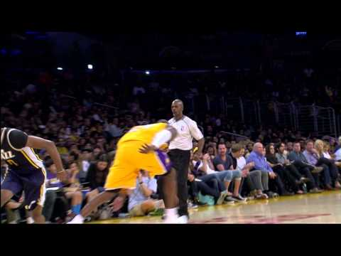 alec - After Kobe hit the jumper over him on one end, Alec Burks came back and hit the mamba with one of the sickest crossovers of the preseason! Check it out! About the NBA: The NBA is the premier...