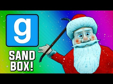 Gmod Sandbox Funny Moments - Santa Claus Tryouts! (Garry