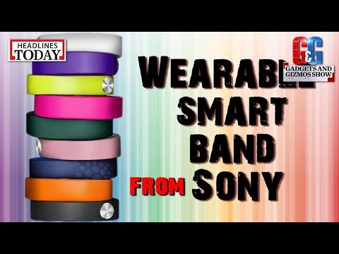 Gadgets & Gizmos: Wearable smart band from Sony
