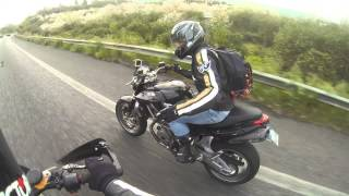 3. APRILIA Dorsoduro 750 Factory VS Shiver 750 top speed-acceleration