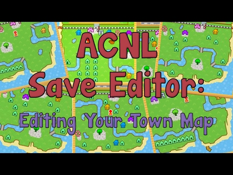 AC:NL Save Editor: How to Edit Your Town Map (видео)