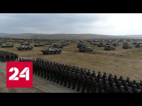 \Восток-2018\: военные применили огневой вал впервые со времен Отечественной войны - Россия 24 - DomaVideo.Ru