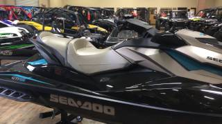 8. 2017 SEA-DOO GTI LTD 155