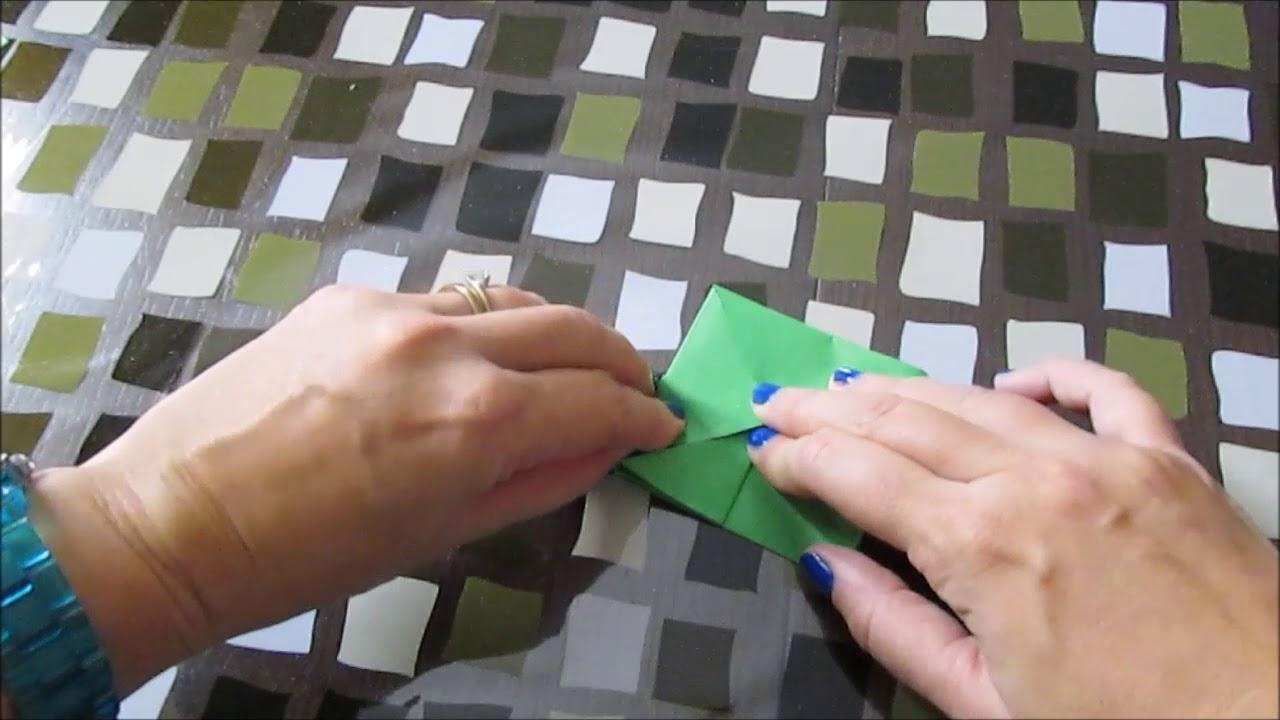 La rana salterina- origami