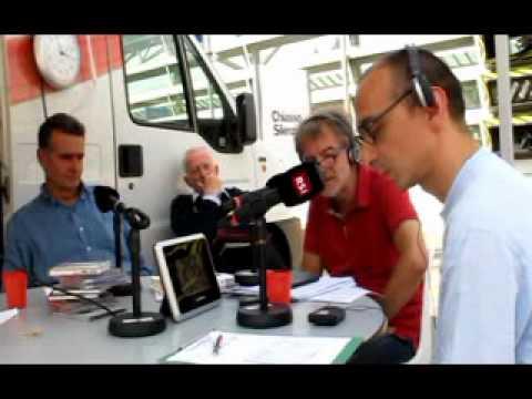 Atelier Blumer - USI AAM, Radio CHage, RSI Rete Due, Mario Pagliarani. 5 Settembre 2012, Chiasso.