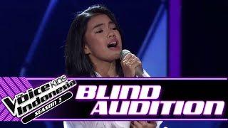 Syarla - Jangan Hilangkan Dia | Blind Auditions | The Voice Kids Indonesia Season 3 GTV 2018