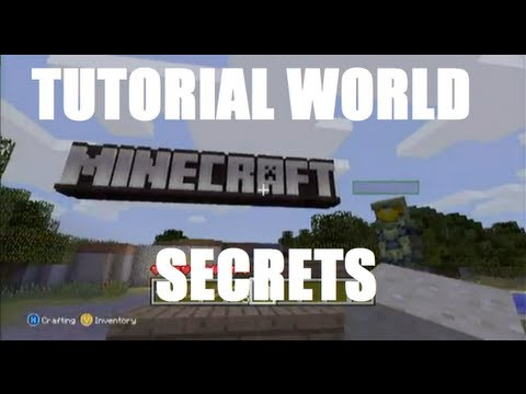 Minecraft: Xbox 360 Edition – Tutorial World Secrets and Easter Eggs