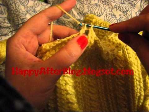 szydełkowy warkocz - jak zrobić warkocz na szydełku DIY