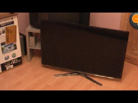 comment monter pied tv samsung la r ponse est sur. Black Bedroom Furniture Sets. Home Design Ideas