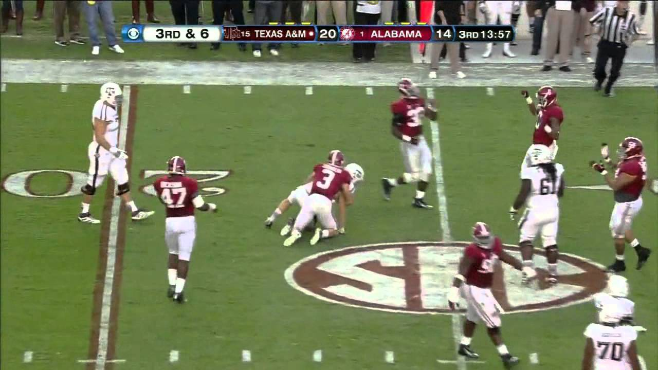 Jake Matthews vs Alabama (2012)