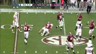 Luke Joeckel vs Alabama (2012)
