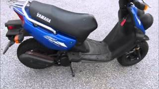 9. 2008 Yamaha Zuma 50 Stock #9-8786@ Diamond Motor Sports