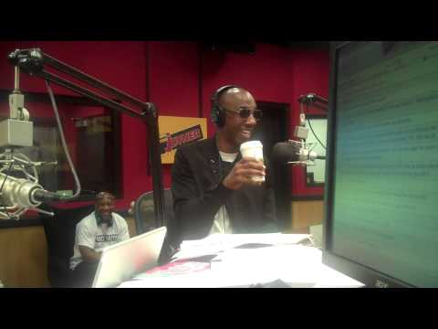 Comedian JB Smoove interviews on the Tom Joyner Morning Show